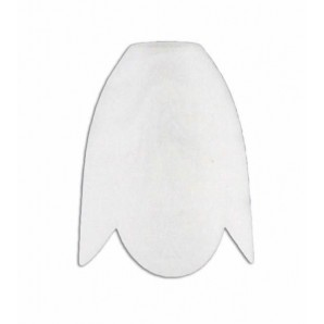 Tulip glass handkerchief mate with the mouth of 3 cm