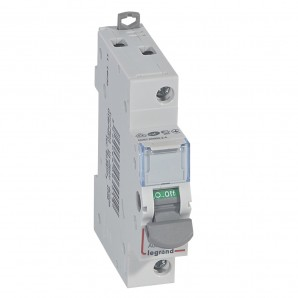 Interruptor seccionador DX³-IS 1P 250V 20 A 1 módulo.LEGRAND 406401