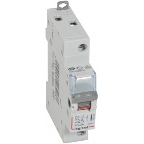Interruptor seccionador DX³-IS 1P 250V 32 A 1 módulo.LEGRAND 406403