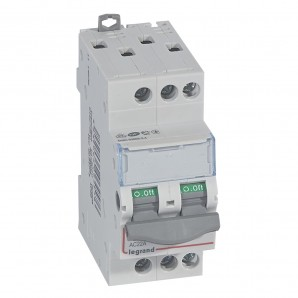 Interruptor seccionador DX³-IS 3P 400 V 20 A 2 módulos.LEGRAND 406457