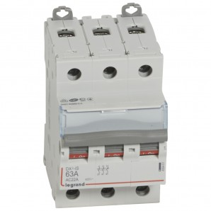 Interruptor seccionador DX³-IS 3P 400 V 63 A 3 módulos.LEGRAND 406461