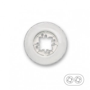 Fontini - Fontini DO | Porcelain frame 2 elements white 33-802-17-2