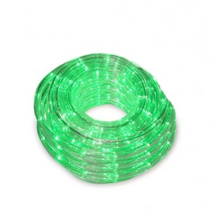 Christmas lights - Rollo 48M tubo flexible 8 funciones Verde GSC 005204442
