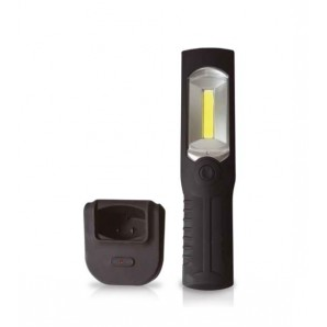 Flashlights - Linterna 3W LED recargable abatible con base GSC 000603210