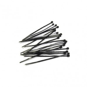 Pack 25 Unidades Bridas 300x4.8mm Negro GSC 000901325