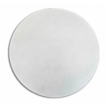 Replacement round curved matte glass 40cm LB 529504