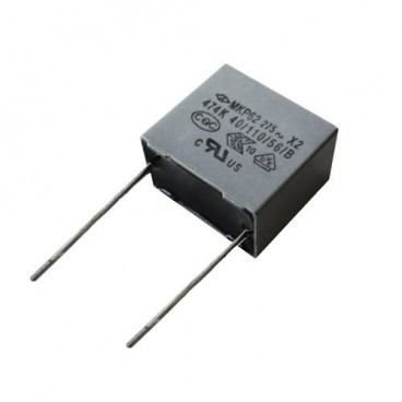 Capacitor to prevent flickering of led bulbs or low consumption EDM 99890
