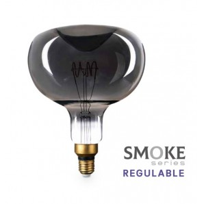 Bombillas - Bombilla de led Vintage Smoke manzana XL 8W E27 2700K regulable GSC 200605003