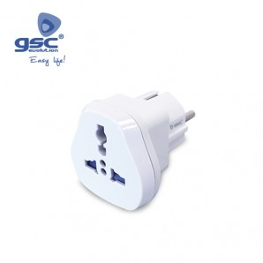 Adaptador de europeo 4.8mm a universal GSC 000203312