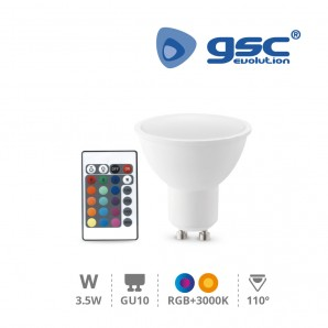 Led bulbs GU10 and MR16 -