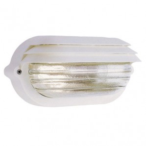Exterior lighting - Plafón Palpebra   IP54  Oval Blanco