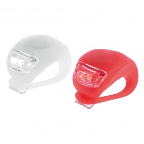 Car moto bike accessories - Kit luces led bicicleta 2 luces basic