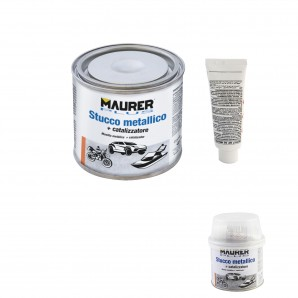 Fillers / Solvents / Cements and glues - Masilla Reparadora Metales 150 ml. Con Endurecedor AFT 14076000