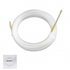 Cable, hose, tube and accessories - Guia Pasahilos, Pasacables, 15 metros x Ø 4mm. AFT 19031000