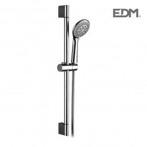 Bathroom faucets, shower and tub - Barra baño con flexo y mando de ducha edm EDM 01147