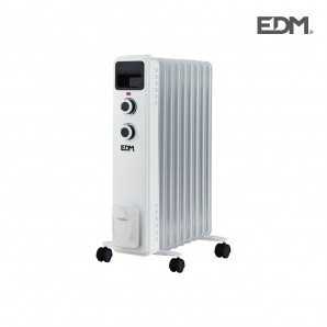 Radiators of low consumption - Radiador aceite 9 elementos 2000w tamaño especial edm EDM 07124