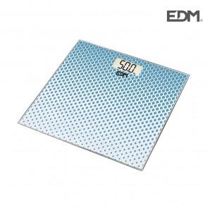 Bascula de baño max 180kg mod 2 edm EDM 07530