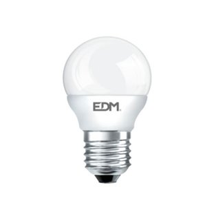 Packs LED bulbs - BOMBILLA ESFERICA LED 5W 400 LUMENS E27 4000K LUZ DIA LUMECO EDM 98318