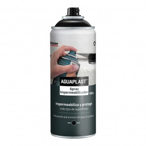 Diy - Spray impermeabilizacion negro 400ml beissier  EDM 24948