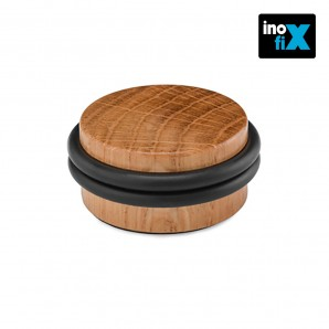 Doorstops - Tope madera con doble torica roble blister inofix EDM 66651