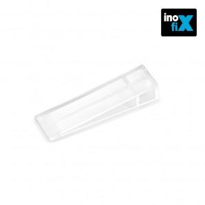 Doorstops - Cuña plastico transparente (blister 3 unid) inofix EDM 66655