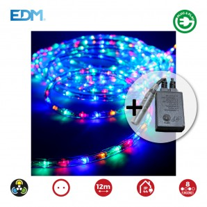 Kit flexiled 12mts multifuncion multicolor edm EDM 71490