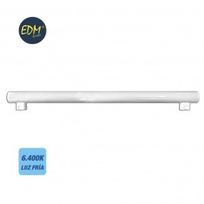 Linestras and soffit led - LINESTRA LED 9W 700 LUMENS 6400K LUZ FRIA 2 CASQUILLOS S14S  EDM 98823