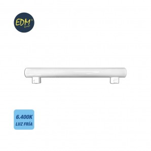 Linestras and soffit led - LINESTRA LED 7W 500 LUMENS 6400K LUZ FRIA 2 CASQUILLOS S14S  EDM 98822