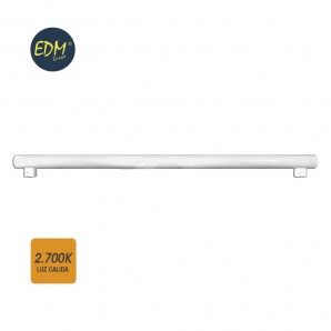 Linestras and soffit led - LINESTRA LED 18W 1.450  LUMENS 2.700K LUZ CALIDA 2 CASQUILLOS S14S  EDM 98809