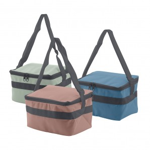 Camping, beach accessories - Nevera tipo bolsa 4l 20x15x13,5cm colores surtidos EDM 73744