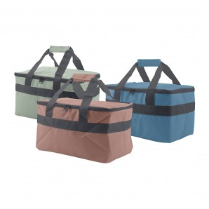 Camping, beach accessories - Nevera tipo bolsa 14l 33x21x20,5cm colores surtidos EDM 73745