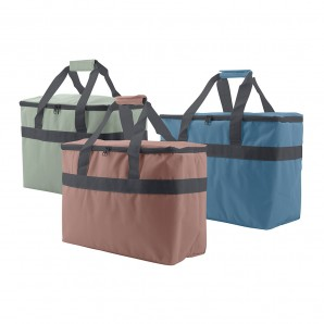 Camping, beach accessories - Nevera tipo bolsa 20l plegable 38x19x29cm colores surtidos EDM 73746