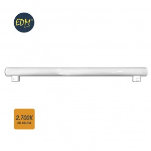 Linestras and soffit led - LINESTRA LED 9W 700 LUMENS 2.700K LUZ CALIDA 2 CASQUILLOS S14S  EDM 98808