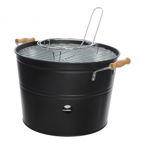 Barbecues and Accessories - Barbacoa cubo con parrilla de 32cm  EDM 73815