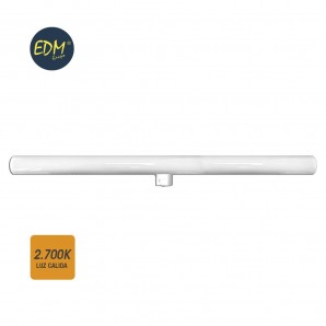 Linestras and soffit led - LINESTRA LED 9W 700 LUMENS 2.700K LUZ CALIDA 1 CASQUILLO S14D  EDM 98806