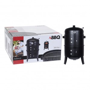 Barbecues and Accessories - Barbaco barril para ahumar negra EDM 73866