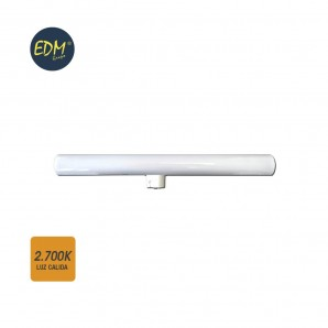 Linestras and soffit led - LINESTRA LED 7W 500 LUMENS 2,700K LUZ CALIDA 1 CASQUILLO S14D  EDM 98805