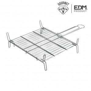 Parrilla doble 25x25cm edm EDM 76841