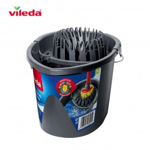 Drugstore and cleaning - Cubo gris wring and go 161030 vileda EDM 77647