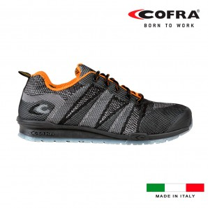 Safety footwear - Zapatos de seguridad cofra fluent black s1 talla 42 EDM 80334