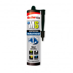Sealants / adhesives / sealants / tapes - Ms especial nautico blanco - 290 ml fischer EDM 96186