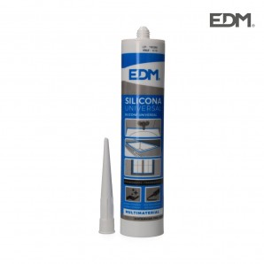 Adhesives and silicone - Silicona universal translucida edm acida  antimoho 280ml l-061219 EDM 96451