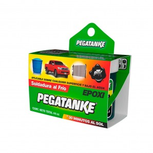 Adhesives and silicone - Pegatanke epoxico clasico negro 44gr EDM 96480
