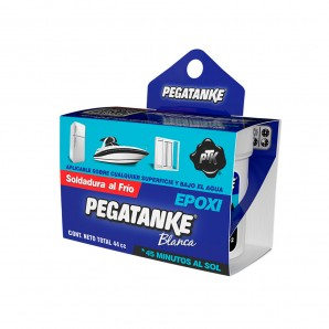 Adhesives and silicone - Pegatanke epoxico blanco 44gr EDM 96481