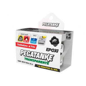 Adhesives and silicone - Pegatanke epoxico transparente 32gr EDM 96482