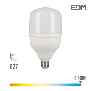 Led bulbs bells industrial - Bombilla industrial led e27 40w 3200 lm 6400k luz fria edm EDM 98835