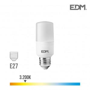Bombilla tubular led e27 10w 1100 lm 3200k luz calida edm EDM 98839