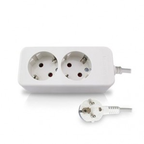 Base multiple 2 plugs 1.5 m cable GSC 0800275