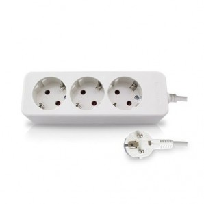 Base multiple 3 plugs 1.5 m cable GSC 0800058