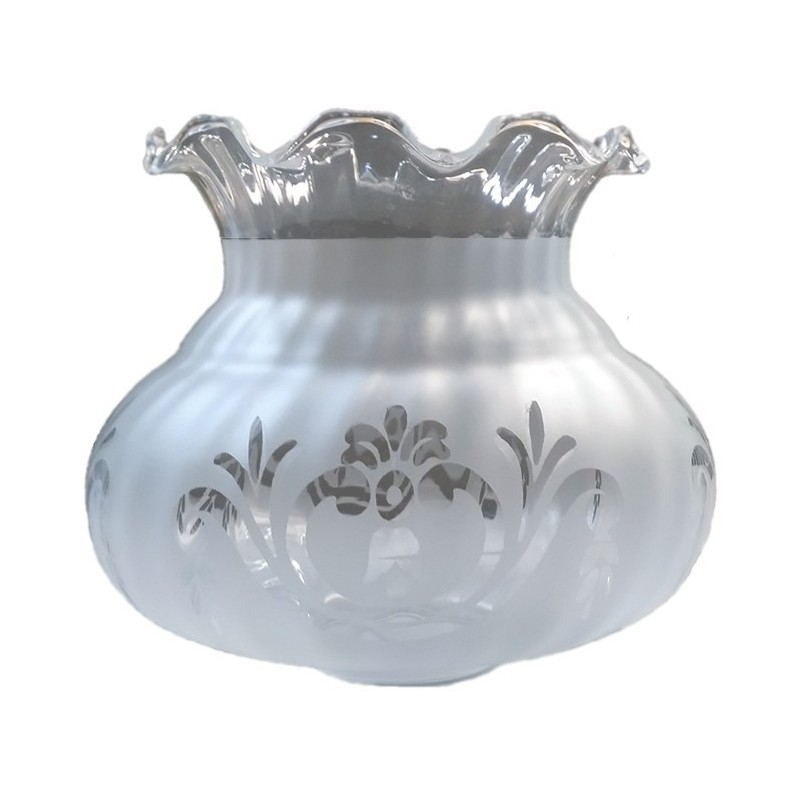Tulip glass Seville mate with the mouth of 5 cm